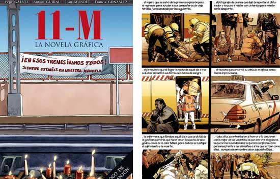 Cinco años después del atentado del 11M, un cómic ha reconstruido los atentados
