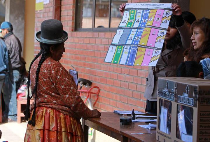 COMICIOS REGIONALES Y MUNICIPALES EN BOLIVIA