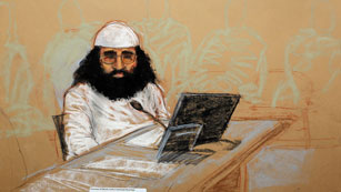 El juicio a los supuestos organizadores del 11 S comienza sumido en el caos