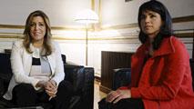 Ir al VideoComienza la ronda de contactos de cara a la investidura de Susana Díaz