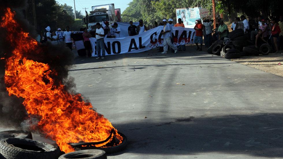 Comienzan las obras del gran canal de Nicaragua