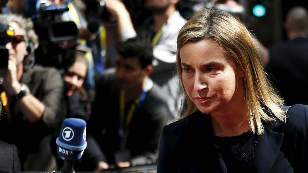 """Los líderes llegan a la cumbre europea extraodinaria con el objetivo de """"salvar vidas"""" de migrantes"""