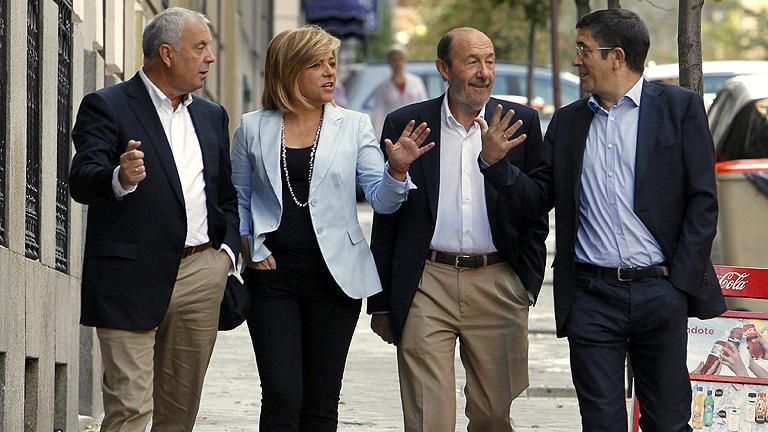 PSOE aprueba las candidaturas de Patxi López y Pachi Vázquez