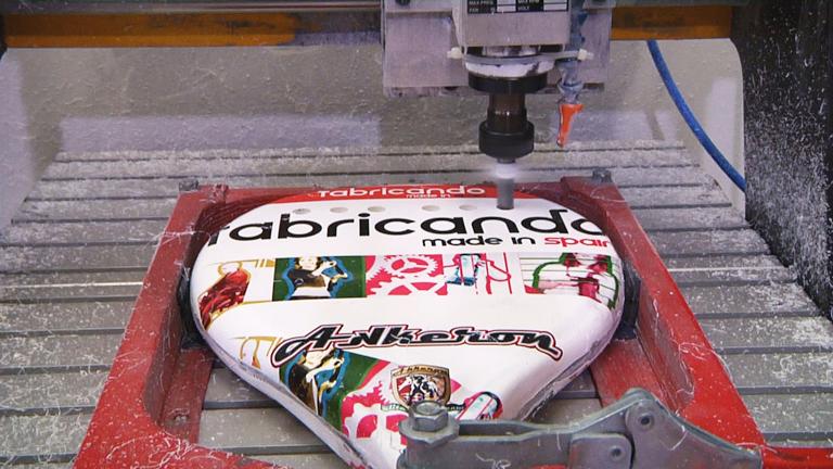 Fabricando Made in Spain - ¿Cómo se hacen unas palas de pádel?