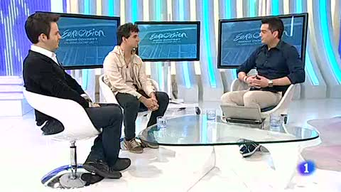 """Más Gente - Álex Jaumot y José Hernández """"Luka"""" hablan sobre Eurovisión 2012"""