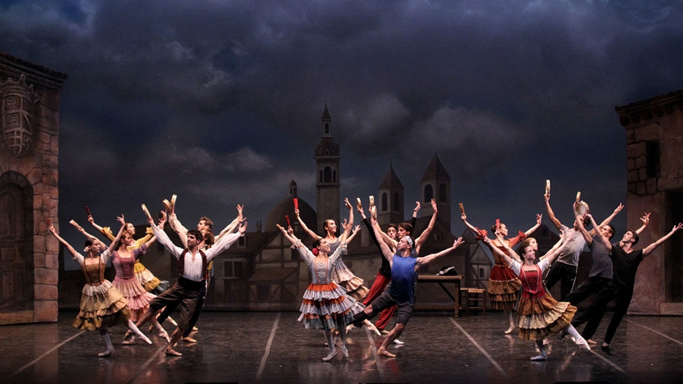 La Compañía Nacional de Danza promociona El Quijote en el extranjero
