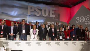 Larga noche para la ejecutiva del PSOE