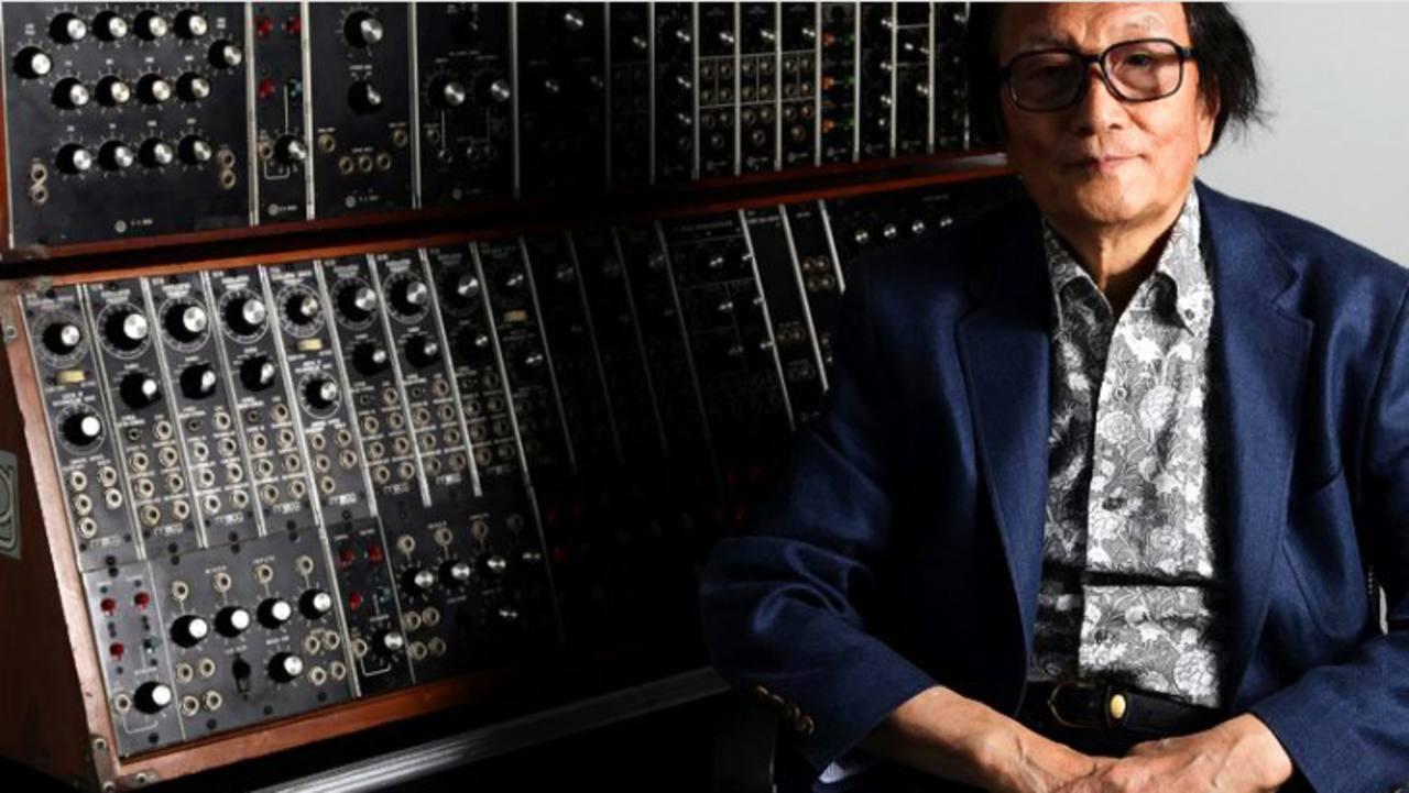 El compositor japonés Isao Tomita