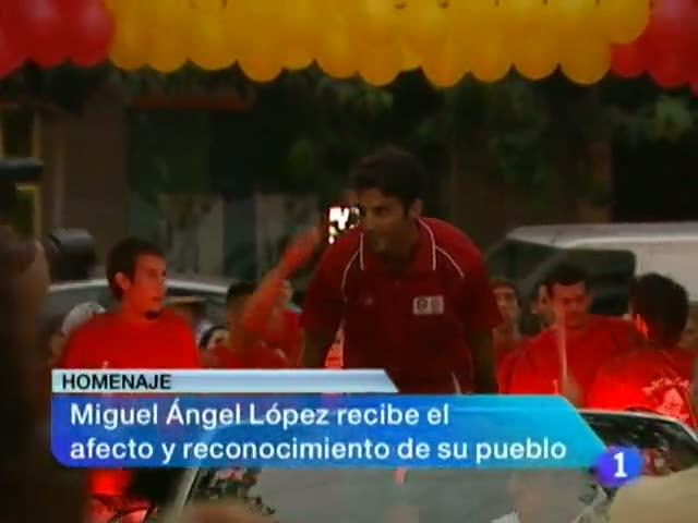La comunidad de Murcia en 2'.(10/08/2012).