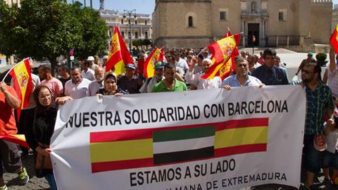 Concentración de la comunidad musulmana en Madrid y Badajoz