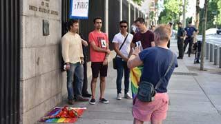 Concentraciones de la comunidad LGTB condenando la masacre en el club 'Pulse'