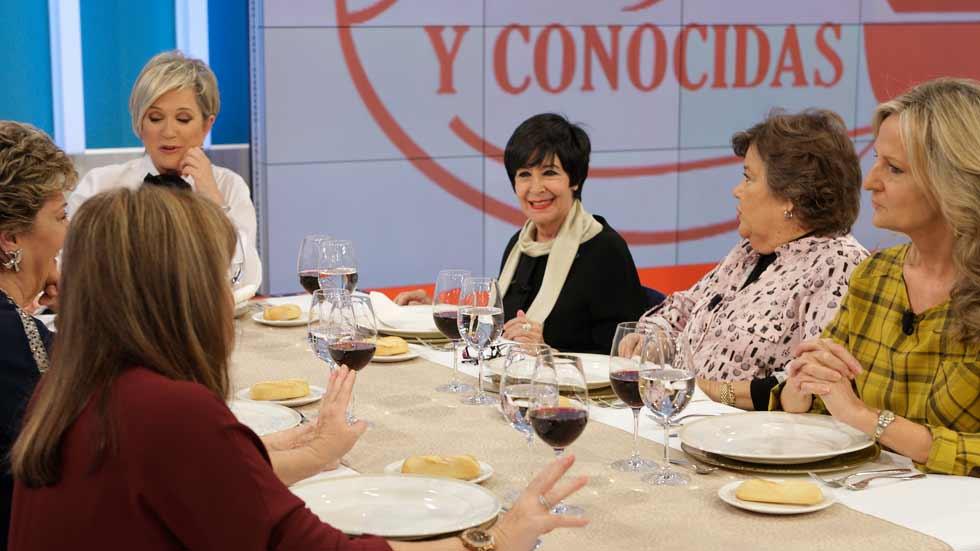 """Amigas y conocidas - Concha Velasco: """"No quiero enamorarme"""""""