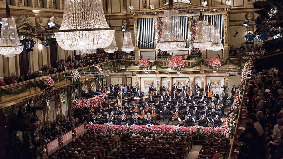 Concierto de a o nuevo de la orquesta filarm nica de viena Ruta de la navidad 2016