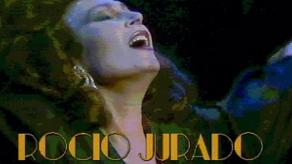 Concierto de Rocío Jurado desde el Teatro Monumental de Madrid