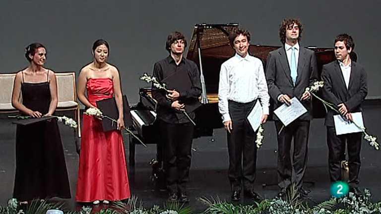 Concurso Internacional de piano de Santander Paloma O'Shea 2012 - Entrega de premios