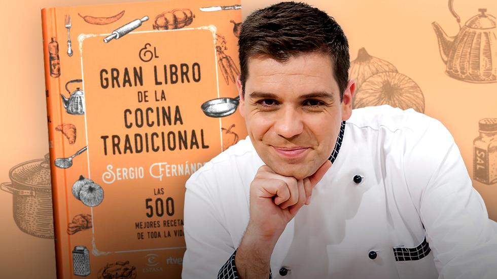 Sergio fern ndez nos presenta 39 el gran libro de la cocina - Cocina con sergio pepa ...