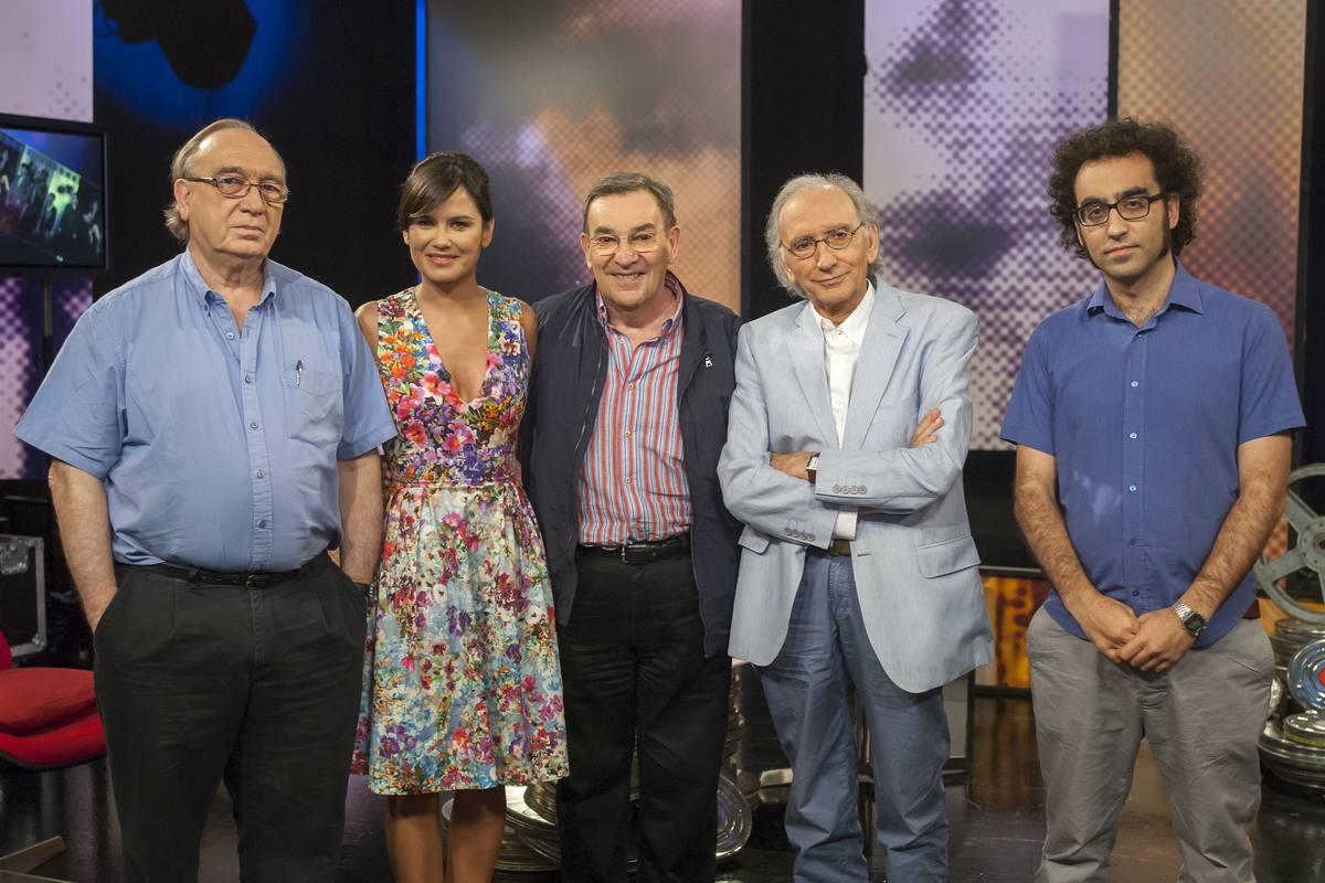 Conducido por Elena S. Sánchez, debate con Alonso de Santos, Pedro Olea, Méndez-Leite y Luis E. Parés