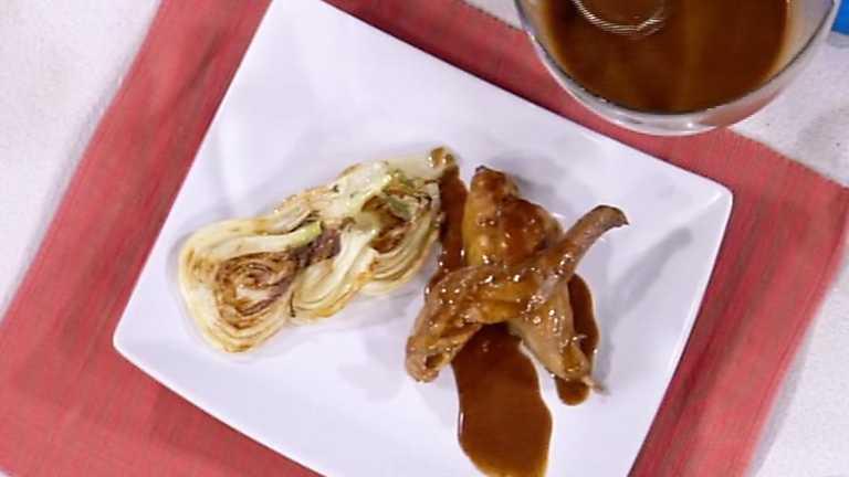 Cocina con Sergio - Conejo guisado al limón y chocolate