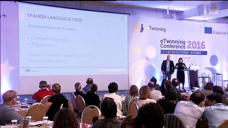 La Aventura del Saber. TVE. Conferencia Anual eTwinning Atenas 2016