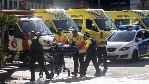 Confirmados 13 muertos en el atentado en las Ramblas de Barcelona