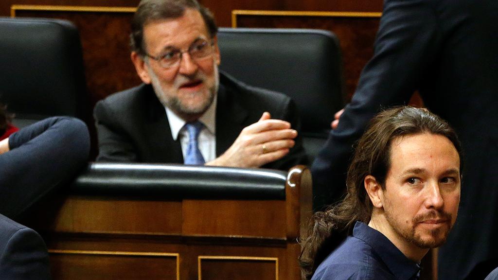 El Congreso debate este martes la moción de censura presentada por Podemos contra Rajoy