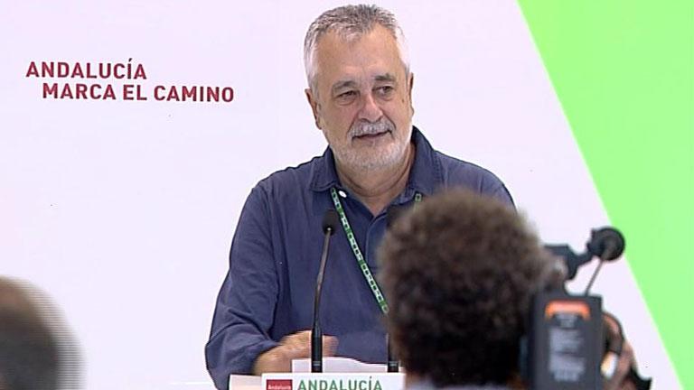 Griñán, reelegido al frente del PSOE-A