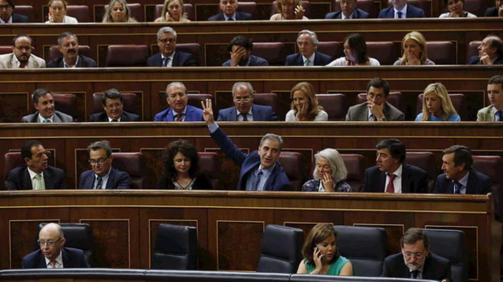 El Congreso rechaza, con los votos del PP y UPN, las enmiendas a la totalidad de los Presupuestos 2016