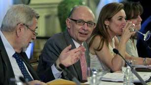 Consejo de Política Fiscal y Financiera con el cumplimiento de déficit de fondo