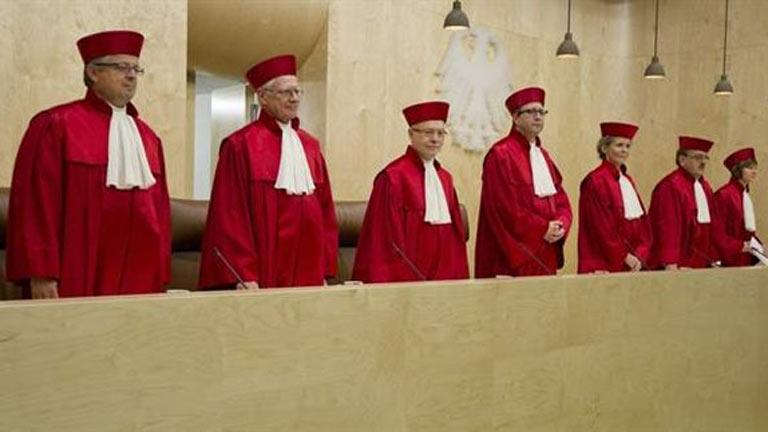 El Constitucional alemán rechaza una mesa reducida para decidir sobre ayudas urgentes