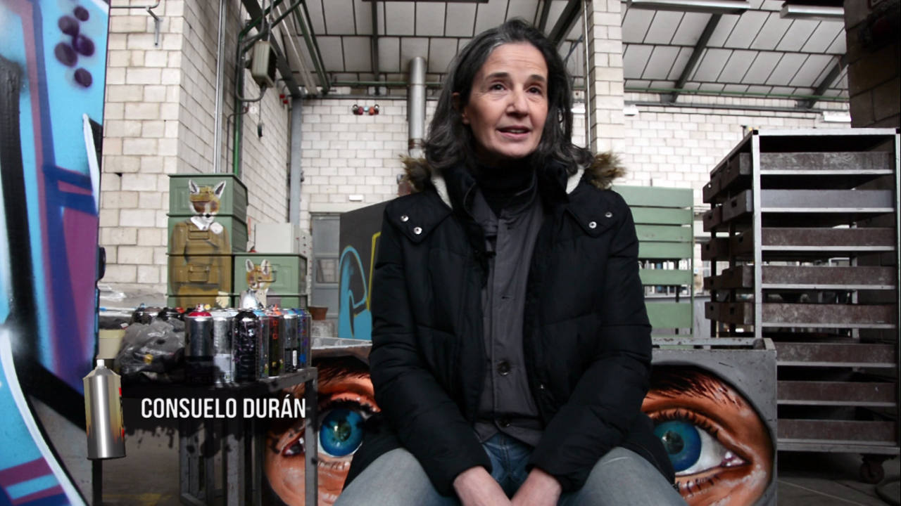 Consuelo Durán habla de la relación del graffiti con el arte y de subastas de arte
