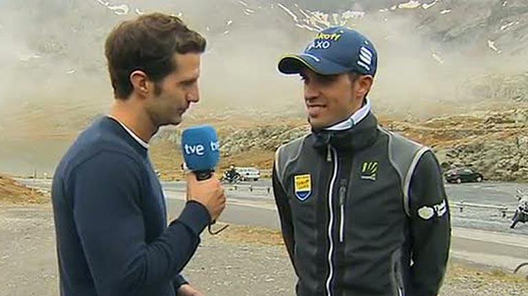 Contador, ausente en Ponferrada, desvela sus próximos objetivos