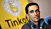 "Contador: ""Es un buen Tour para mí"""