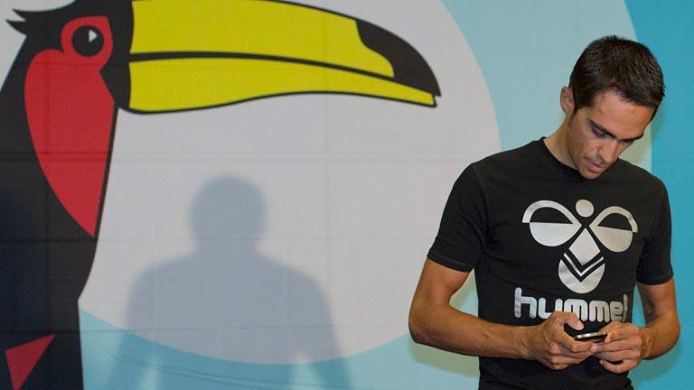 Contador cumple su sanción por dopaje