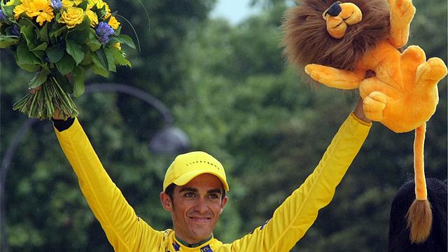 Contador gana el turbio Tour del 2007