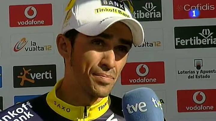 "Contador: ""Me gustaría tener un día de lluvia"""