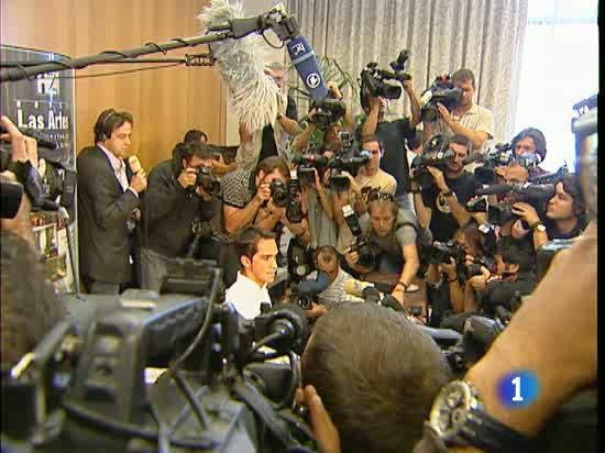 Contador proclama su inocencia