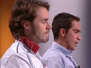Contador y Samuel Sánchez en TDP