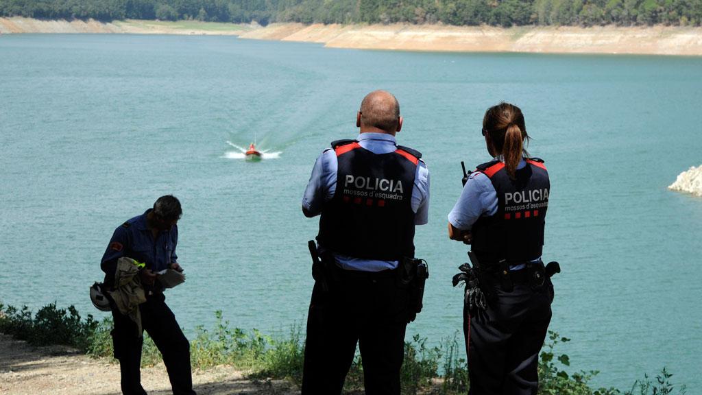 Continúa la búsqueda de dos  jóvenes de 21 y 23 años que habían acudido al pantano de Susqueda