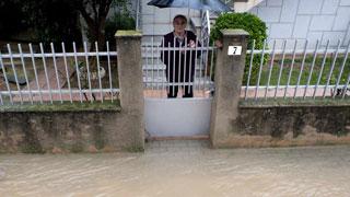 Continúa el temporal de lluvia en el Mediterráneo