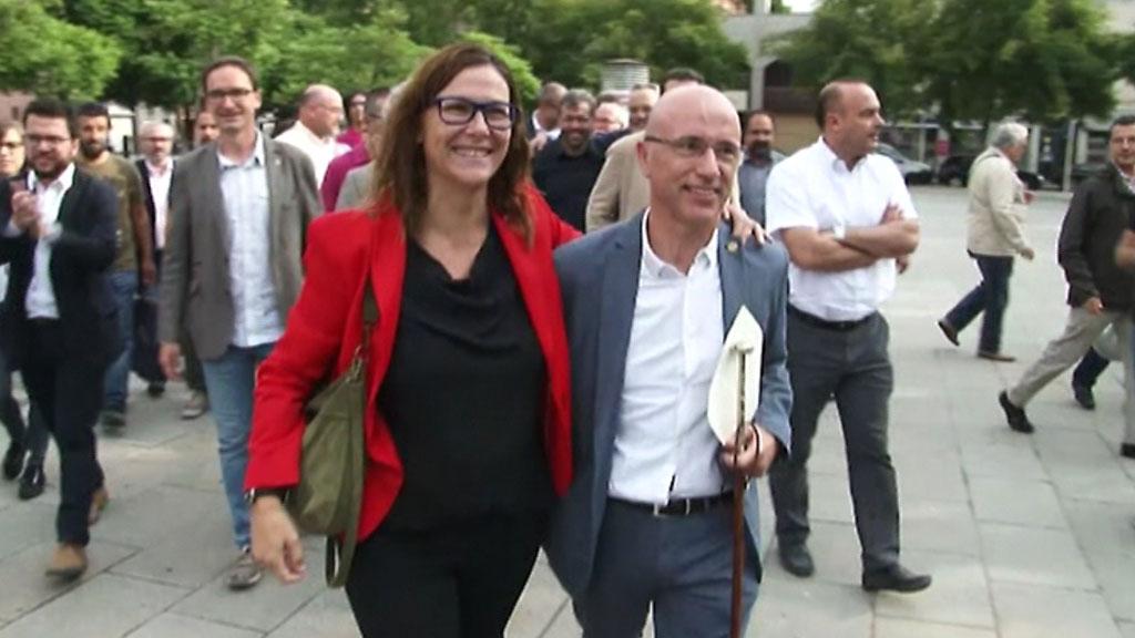 Continúan las declaraciones de los alcaldes que firmaron el decreto de colaboración con el 1 de Octubre
