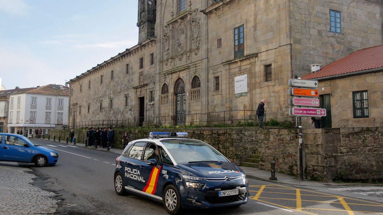 Convento de las Mercedarias, situado en el centro histórico de Santiago de Compostela