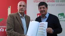 El coordinador general de IULV-CA, Diego Valderas, en un acto reciente