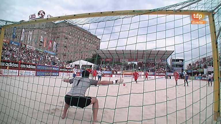 Fútbol playa - Torneo de clasificación de la Copa del Mundo 2013 : Holanda-Rusia