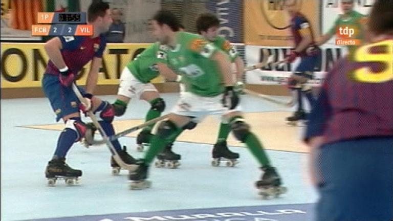 Hockey sobre patines - Copa del Rey: 2ª semifinal - 03/03/12