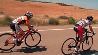 Ciclismo - Copa de España de féminas, prueba Caspe (Zaragoza)