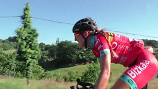 Ciclismo - Copa de España de Féminas. Prueba Zizurkil