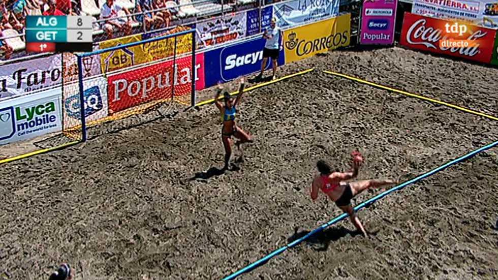 Balonmano Playa - Copa de España. Final Femenina