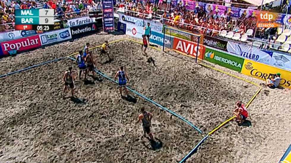 Balonmano Playa - Copa de España. Final Masculina