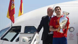 La Copa de Europa aterriza en España