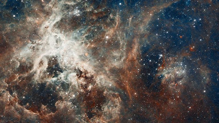El corazón de la Nebulosa de la Tarántula